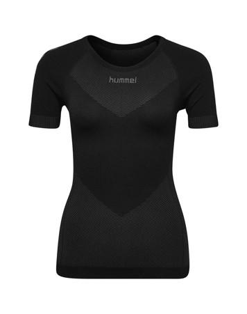 Hummel First Seamless baselayer t-shirt Sort Dame 1