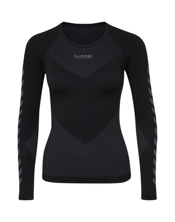 Hummel First Seamless Baselayer Træningstrøje Sort Dame 1