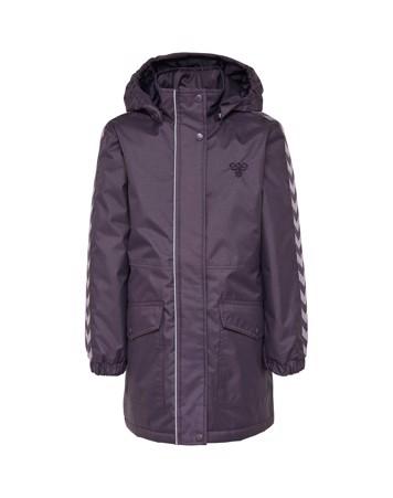 Hummel Hmljeanne Coat Jakke Mørkelilla Pige 1