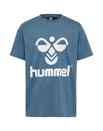 Hummel Tres T-shirt Blå Børn 1