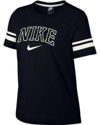 Nike Sportswear t-shirt T-shirt Sort Dame