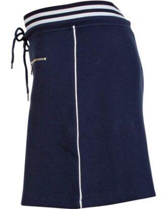 Blue Nederdel Isabella Skirt Navy Dame