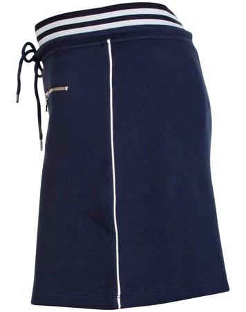 Blue Nederdel Isabella Skirt Navy Dame 1