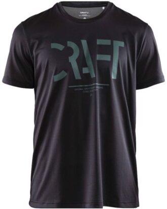 Craft T-shirt Eaze SS Craft Mesh Tee M Mørkegrå Herre