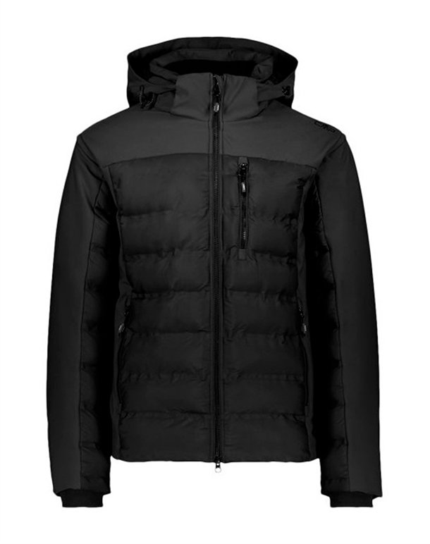 CMP Zip Hood Light Jakke Sort Herre 1