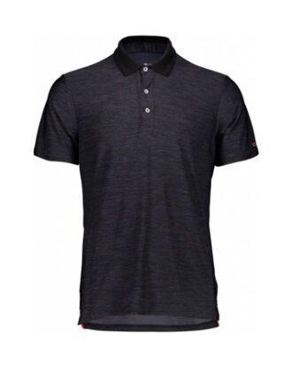 CMP Strech Polo Melange  Shirt Grå Herre