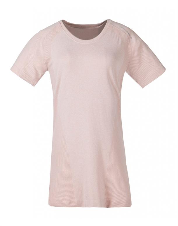 Endurance Halen T-shirts Rosa Dame 1