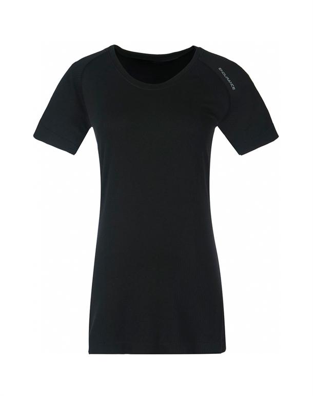 Endurance Halen T-shirts Sort Dame 1