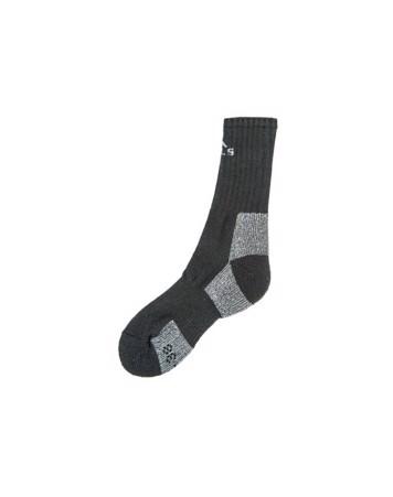 Mols Rinburg Wool Sock Vandresokker Uld Sort Unisex 1
