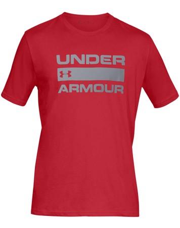 Under Armour Team Issue Wordmark SS T-shirt Rød Herre 1