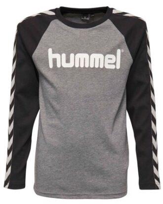 Hummel Langærmet t-shirt Earl LS Tee Grå Dreng