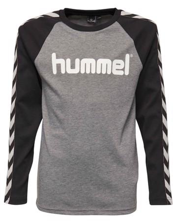 Hummel Langærmet t-shirt Earl LS Tee Grå Dreng 1