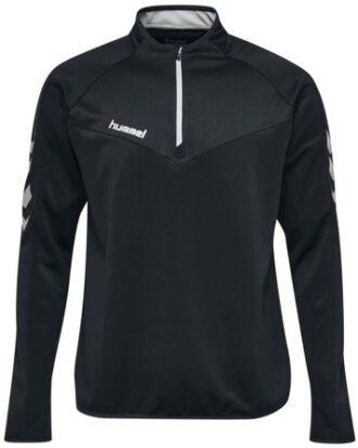 Hummel Sweatshirt Challenger Half Zip Sweatshirt Sort Herre