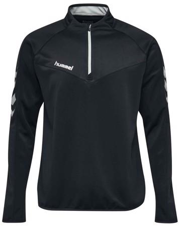 Hummel Sweatshirt Challenger Half Zip Sweatshirt Sort Herre 1
