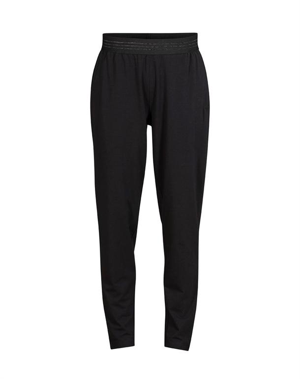 Blue Sportswear Yoga Bukser Sort Dame 1