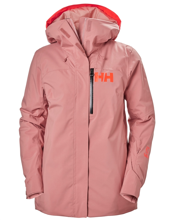 Helly Hansen Powshot Skijakke Lyserød Dame 1