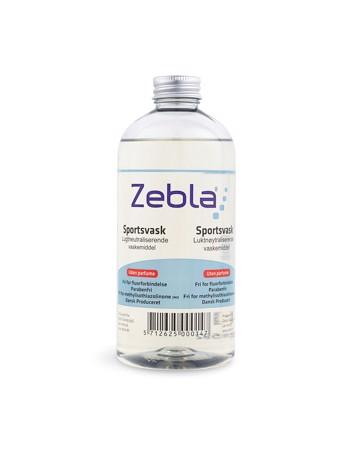 Zebla 500ML Sportsvask uden parfume Klar Unisex 1