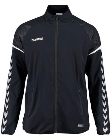 Hummel Træningsjakke Authentic Charge Micro Zip Jacket Sort Herre 1