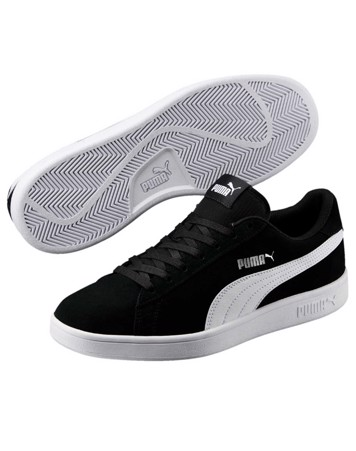 Puma Sneakers Smash v2 Sort-Hvid Unisex 2