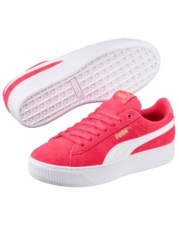 Puma Sneakers Vikky Platform AC PS Pink Pige 1
