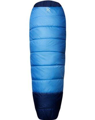Haglöfs sovepose Moonlite+7 blå Unisex