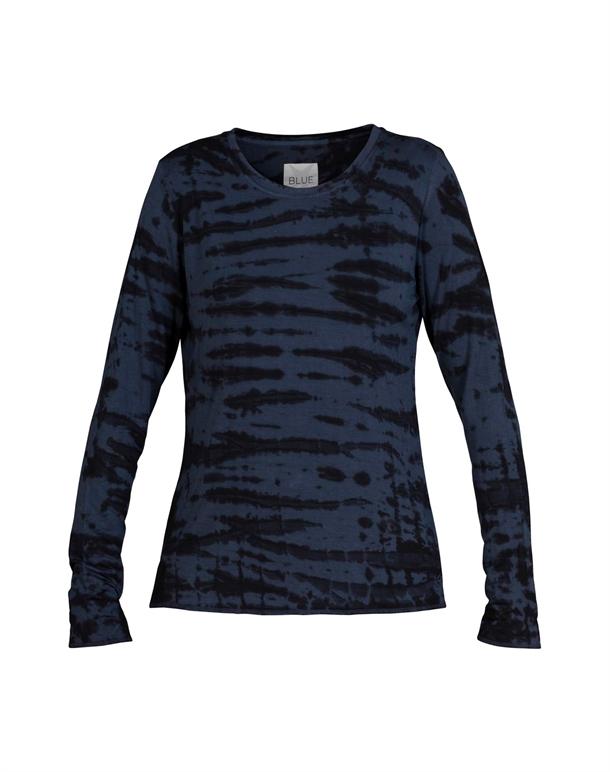 Blue Sportswear Tula Yoga Trøje Blå-Sort Dame 1
