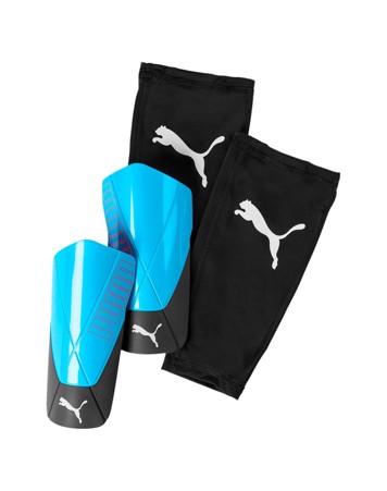 Puma ftblNXT Pro Flex sleeve Benskinner Blå/Sort Unisex 1