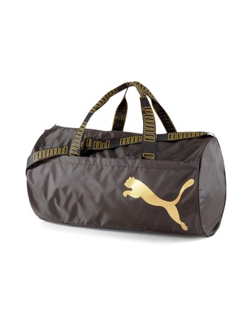 Puma AT ESS Barrel Sportstaske Sort-Guld Unisex 1