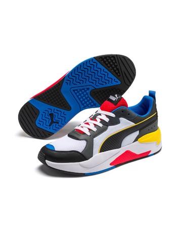 Puma X-Ray Sneakers Hvid-Sort-Rød-Blå-Gul Herre 1