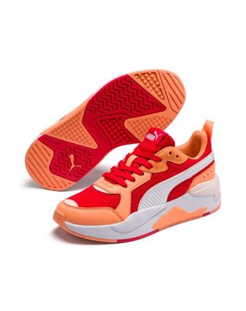 Puma X-Ray - Sneakers- Rød-Orange-Hvid Dame 1