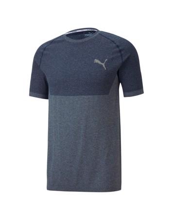 Puma Evoknit Basic T-shirts Mørkeblå Herre 1