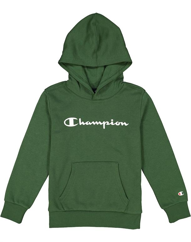 Champion Hooded Sweatshirt Trøjer Grøn Børn 1