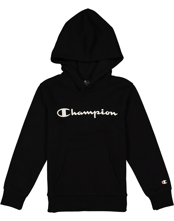 Champion Hooded Sweatshirt Sort Børn 1