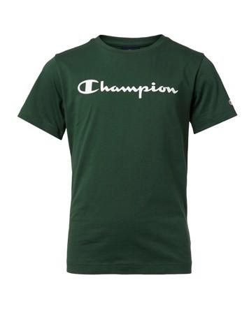Champion Crewneck T-shirts Grøn Børn 1