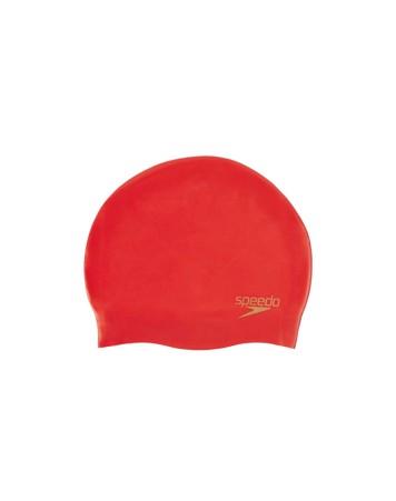 Speedo Silicon moulded Cap AU Badehætte Rød Unisex 1