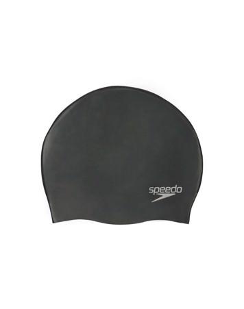 Speedo Silicon moulded Cap AU Badehætte Sort Unisex 1
