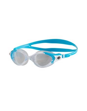 Speedo Futura Biofuse Flexiseal Svømmebriller Blå-Klar Dame 1