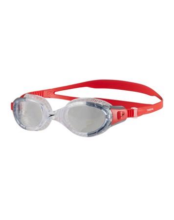 Speedo Futura Biofuse Flexiseal Svømmebriller Rød-Klar Unisex 1