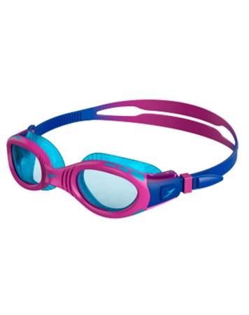 Speedo Futura Biofuse Flexiseal Svømmebriller Lilla/Blå Børn 1
