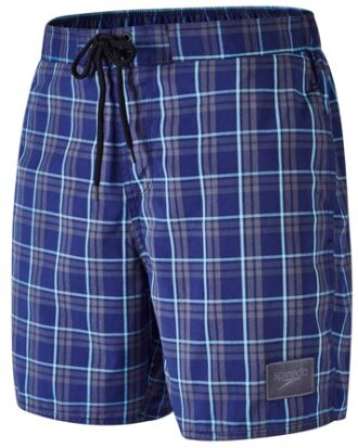 Speedo Badeshorts YD Check Leisure 16 WSHT 17 AM Navy-Grå Herre