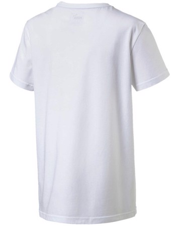 Puma T-shirt Rebel Tee Hvid Børn 2
