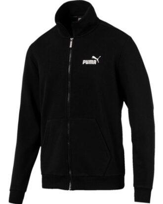 Puma Sweatshirt med lynlås Ess Track Jacket TR Sort Herre