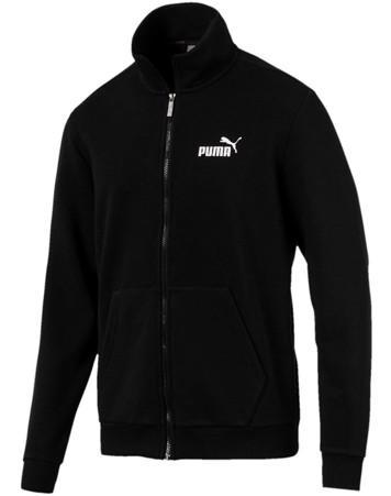 Puma Sweatshirt med lynlås Ess Track Jacket TR Sort Herre 1