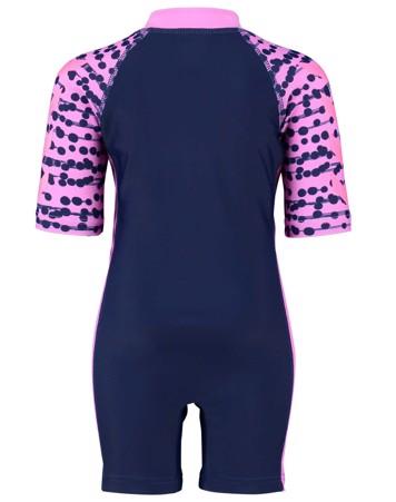 Hummel Sonny solbeskyttelsesdragt +50 mørkeblå pige 2