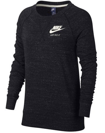 Nike Trøje NSW Gym VNTG Crew Sort Dame