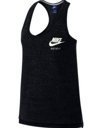 Nike  Tanktop NSW Gym Vntg Gym top  sortmeleret Dame