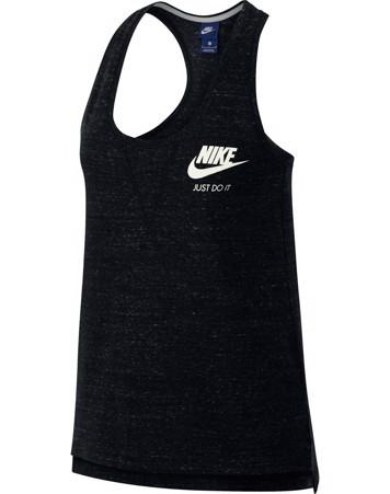 Nike Tanktop NSW Gym Vntg Gym top sortmeleret Dame 1