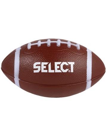Select Foam American Football ca 19 cm. bred Skumbold Brun Unisex