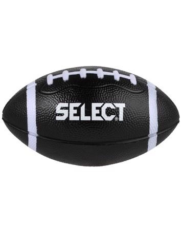 Select Foam American Football Skum Fodbold Sort Unisex ca. 19 cm i bredden