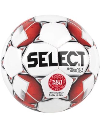 Select Brilliant Replica Mini Fodbold Hvid-Rød Unisex